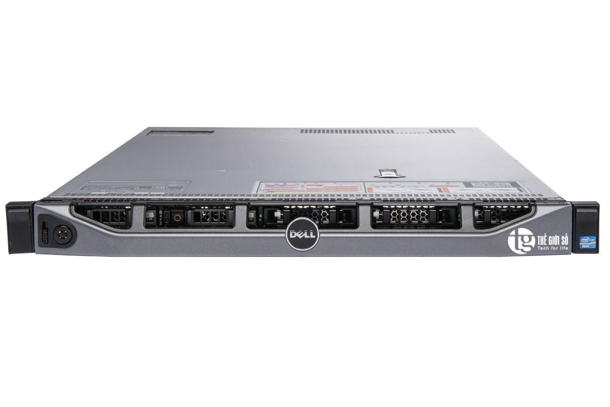 SERVER DELL POWEREDGE R620 XEON 2 x E5 2670 v1 RAM 32G SAS 300G RAID H710 1U