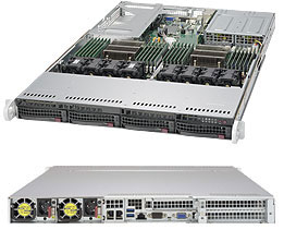 SERVER SUPERSERVER 6018U-TRT+ Intel® Xeon® processor E5-2600 v3