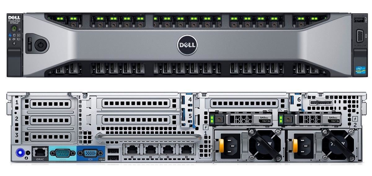 MÁY CHỦ DELL™ POWEREDGE™ R730xd E5-2620 v3