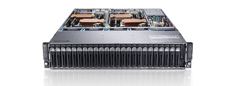 SERVER DELL POWEREDGE C6220 4 NODE 8 x E5 2670 C2