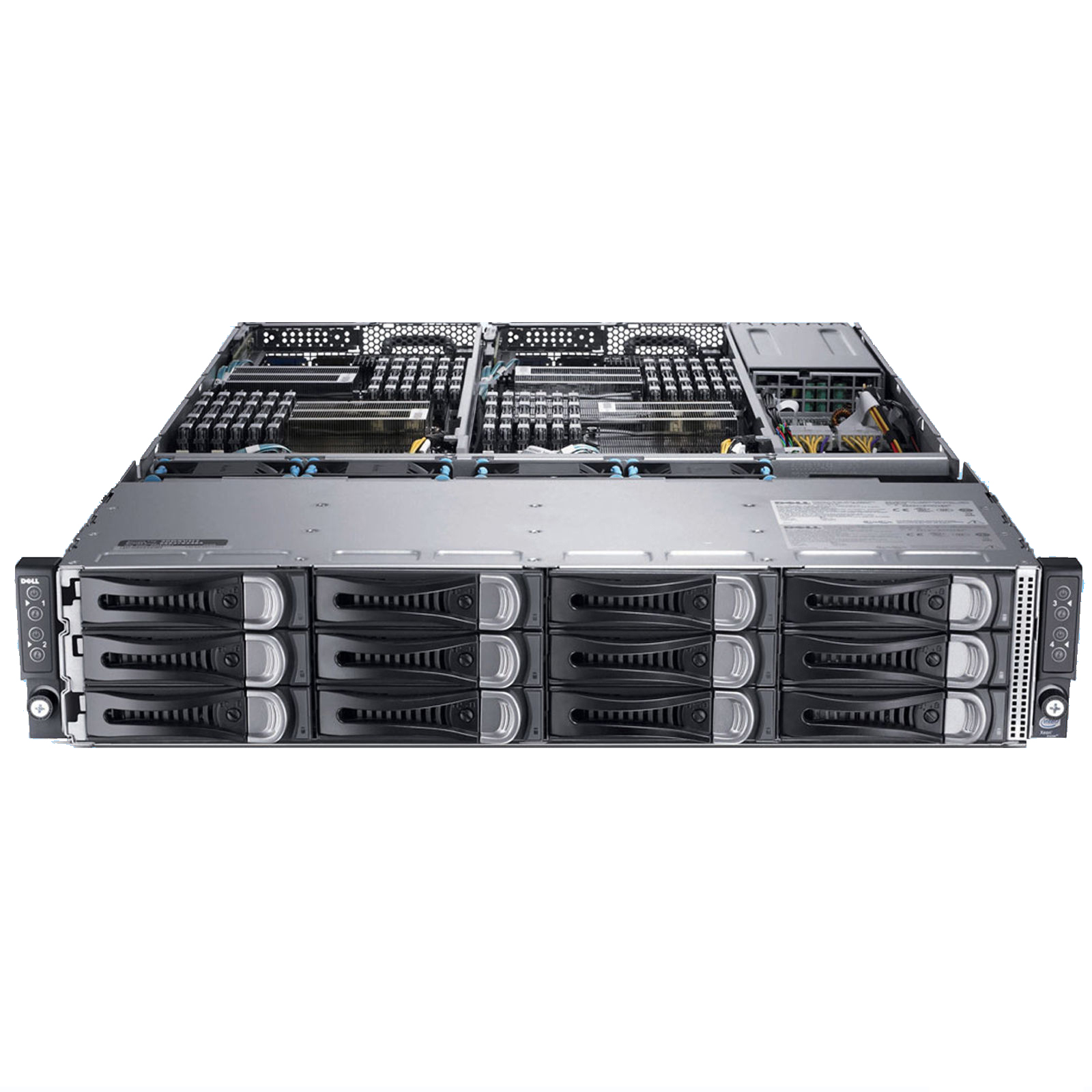 SERVER DELL POWEREDGE C6220 E5-2665 (2.0Ghz - 20M Cache - 8 Core/ 16 Threads)