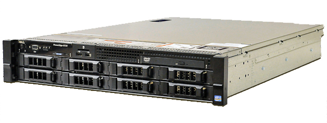 SERVER DELL POWEREDGE R720 - E5-2609V2, 4-Core E5-2609v2 2.50GHz, 10M Cache, 6.4GT/s QPI
