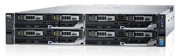 SERVER DELL POWEREDGE FX2S 4 NODE FC630 BAREBONE CŨ