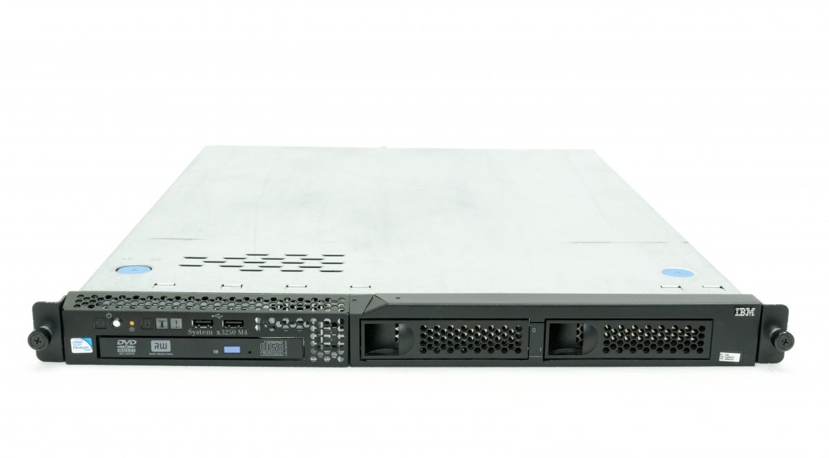 SERVER IBM® SYSTEM® X3250 M4 E3-1230v2 (4-core/3.30GHz/8MB)
