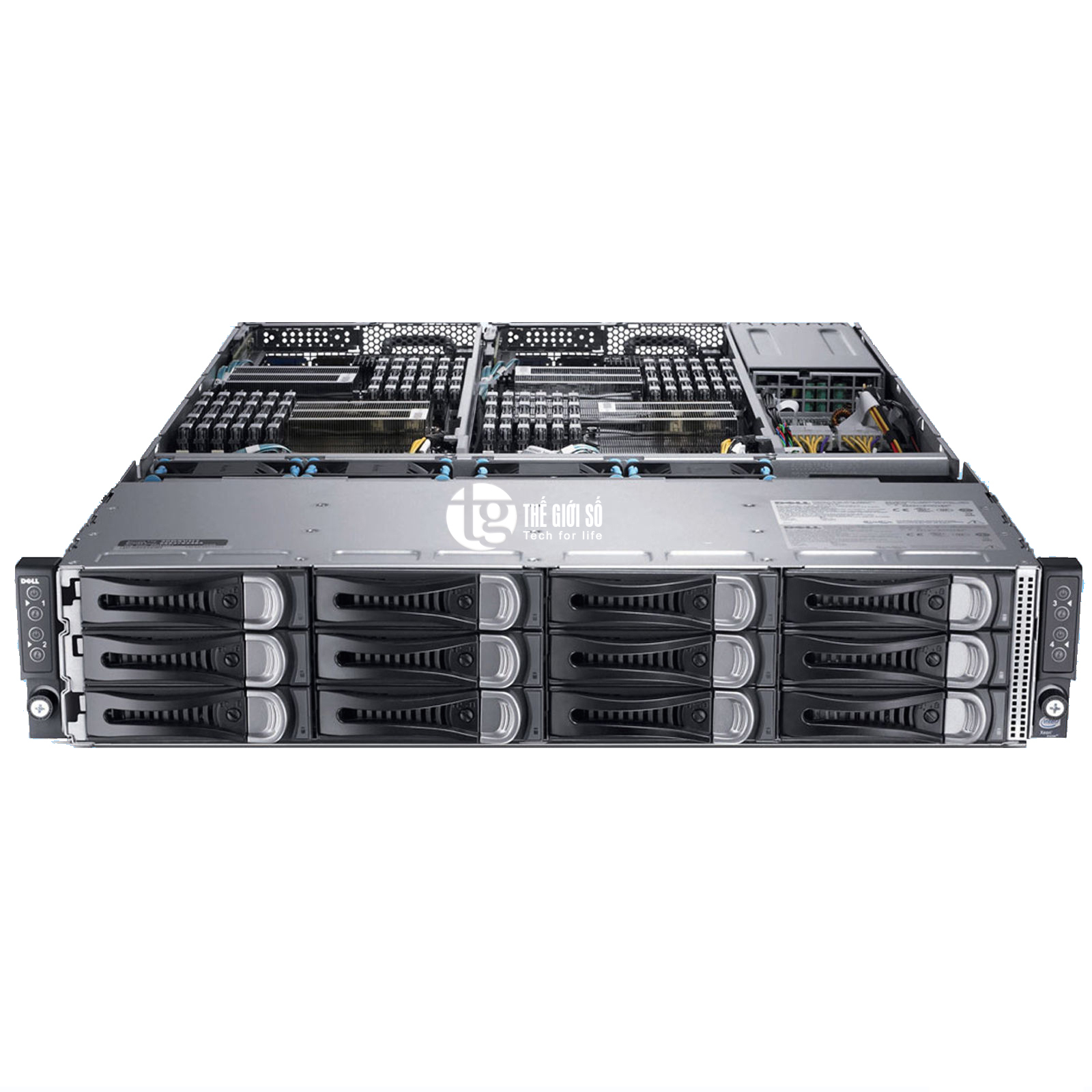 SERVER DELL POWEREDGE C6220 E5-2670 RAID 9265-8i