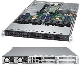 SERVER SUPERSERVER 1028UX-CR-LL1 E5-2643 v3 (Haswell)