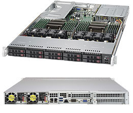 SERVER SUPERSERVER 1028U-TNRT+ E5-2600 v3 family