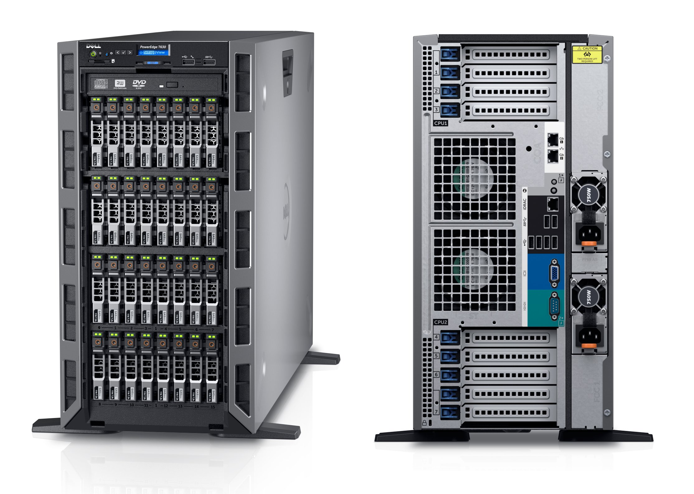 MÁY CHỦ DELL POWEREDGE T630 INTEL® XEON® E5-2609 V3 1.9GHZ