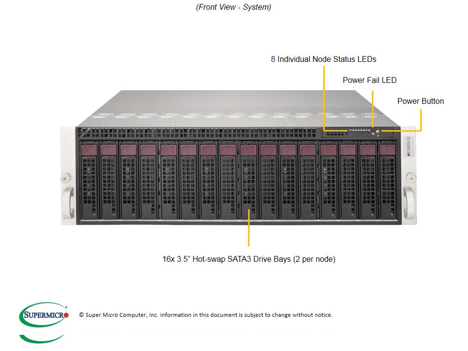 SERVER MicroCloud SuperServer 5038MA-H24TRF