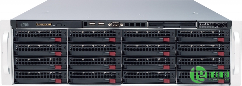 Supermicro SuperStorage Server SSG-6038R-E1CR16N
