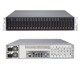 SERVER SuperStorage Server 2027R-E1R24L