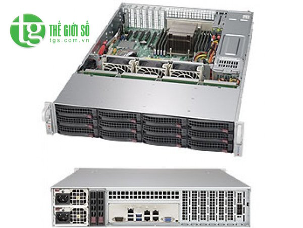 Supermicro SuperStorage Server 6028R-E1CR12T