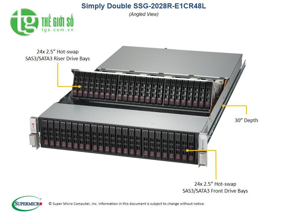 Supermicro SuperStorage Server 2028R-E1CR48L
