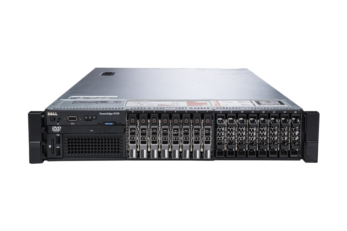 MÁY CHỦ DELL™ POWEREDGE™ R720 E5-2690 v2