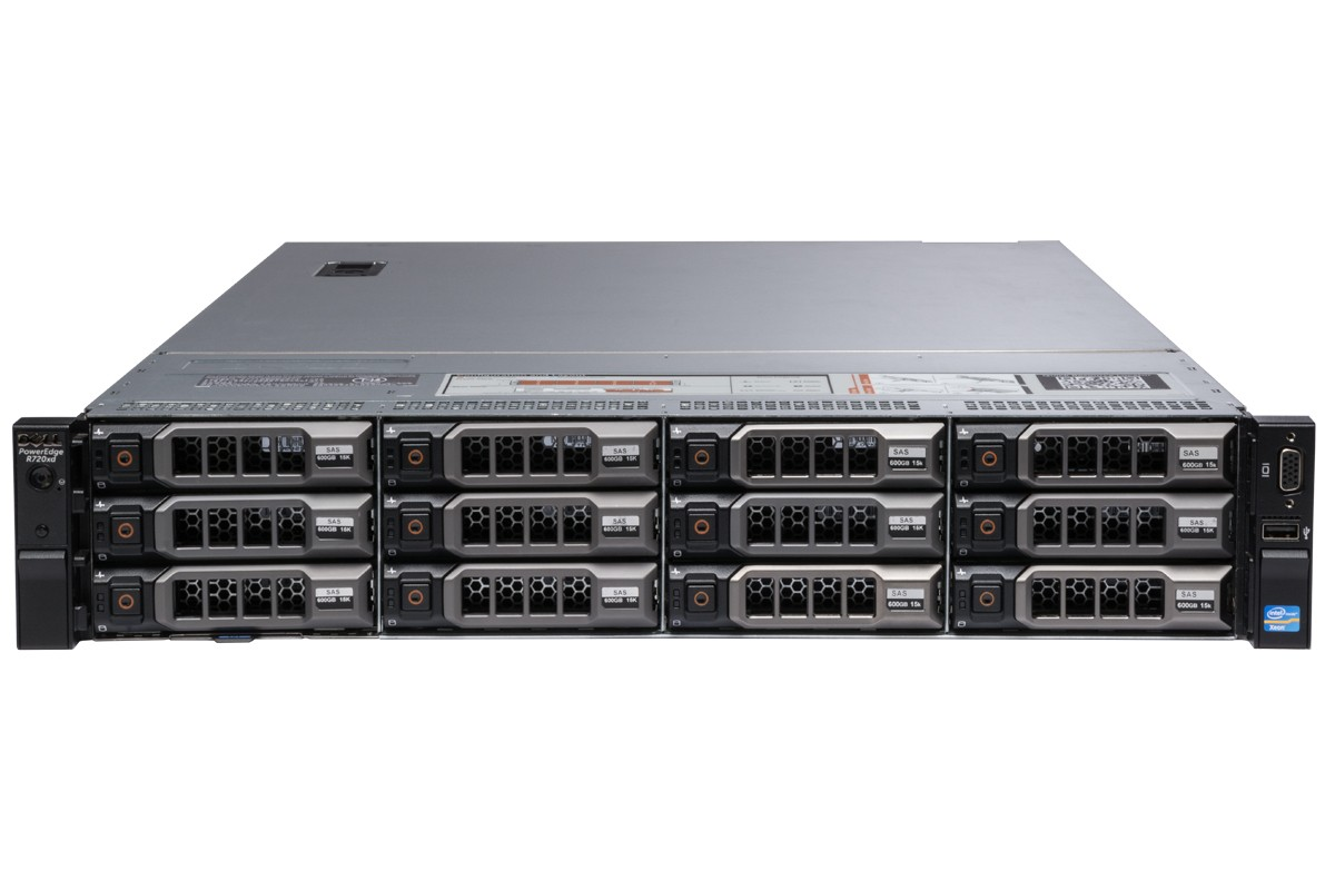 MÁY CHỦ DELL™ POWEREDGE™ R720xd E5-2630 v2