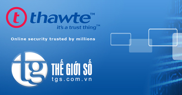 CHỨNG CHỈ SỐ THAWTE SSL